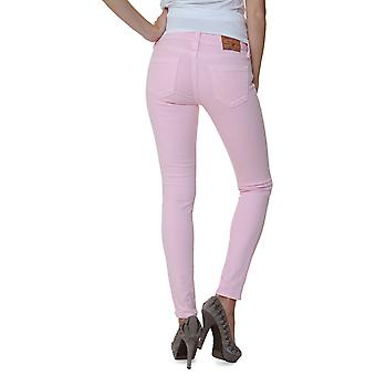 True Religion Pants Tube Slim HALLE HIGHER RISE SKINNY LEGGING Wash QY BABY PINK