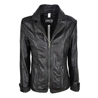 Women's leather jacket Sandra