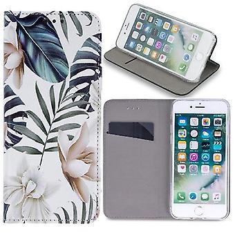 Samsung Galaxy A41 - Smart Trendy Mobilplånbok - Orchid