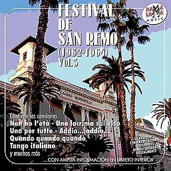 Festival De San Remo Vol 3 [CD] USA import