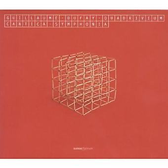 Guillaume Dufay - Guillaume Dufay: Quadrivium [CD] USA import