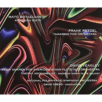 Boyadjian / National Polish Radio So / Oberg, David - Armenian Suite [CD] USA import