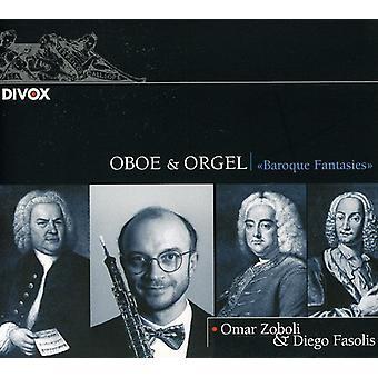 Bach/Haendel/Vivaldi/Krebs/Hertel - Oboe & Orgel: Baroque Fantasies [CD] USA import