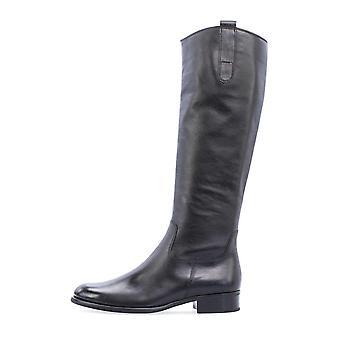 Gabor foulardcalf schwarz laarzen dames zwart 002