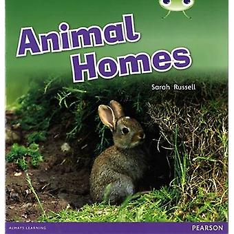 Bug Club Pink B Animal Homes 6-Pack by Sarah Russell - 9780435169619