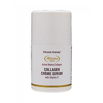 Higher Nature Aeterna Gold Collagen Creme Serum 150ml (AEC150)
