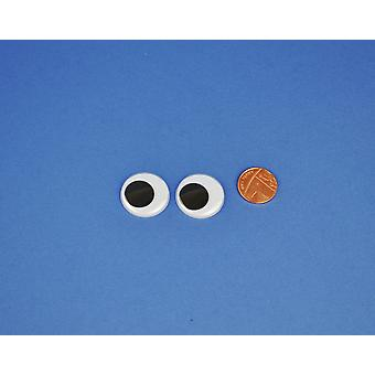 1 paar 25mm Craft Googly Eyes  Wiggly Wobbly Eyes