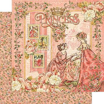 Grafisk 45 Princess 12x12 Tums Papperspaket