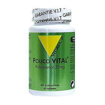 Polico Vital 25mg - Policosanol 60 plantaardige capsules