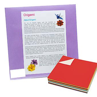 30 Sheets of 9 Inch (240mm) Pearlescent Origami Paper