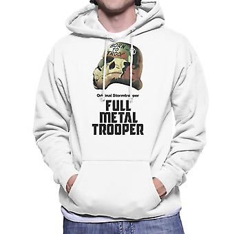 Alkuperäinen Stormtrooper Full Metal Trooper parodia miesten ' s huppari