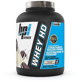 BPI Sports Whey-HD Milk and Cookies 4 lb