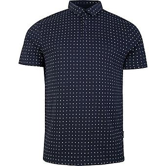 Armani Exchange All Over Ax Logo Polo Shirt