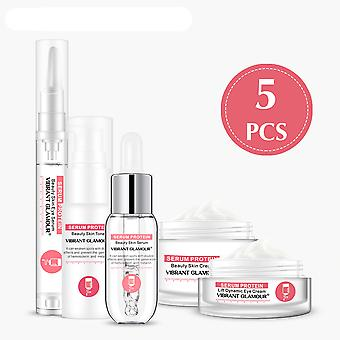 Serum Protein Repair Facial Set- Face Cream, Anti Wrinkle, Face Serum Toner,