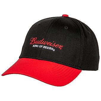 Budweiser King Of Beers Logo Adjustable Velcro Hat