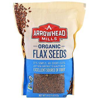Arrowhead Mills, Organic Flax Seeds, 16 oz (453 g)