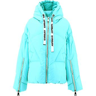Khrisjoy Afpw001aq01 Femmes's Light Blue Polyester Down Jacket