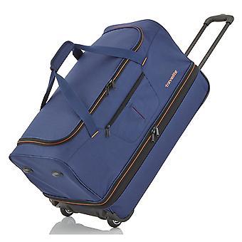 travelite Basics Trolley Travel Bag 55 cm 2 pyörää laajennettavissa, Sininen