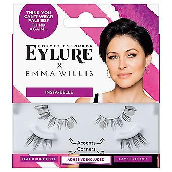 Eylure x Emma Willis False Eyelashes - Insta-Belle - Lash Adhesive Included