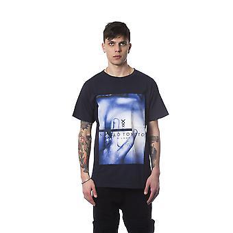 Nicolo Tonetto Blu Navy T-Shirt NI683379-M