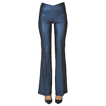 P.a.r.o.s.h. Ezgl081062 Women's Blue Polyester Pants