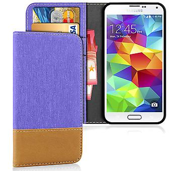 Mobile Shell Wallet voor Samsung Galaxy S5 Magnet TPU Mobiele Telefoon