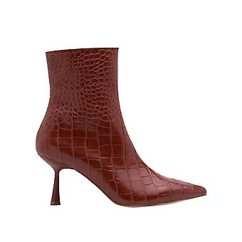 Na-Kd Women's Front Seam Ankle Boots