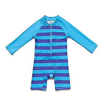 Bonverano Baby Boys One Piece UPF 50+ Sun Protection L/S Sleeves Zip Sunsuit
