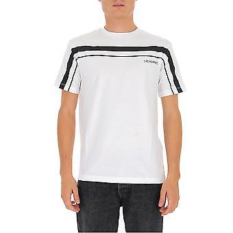 Les Hommes Ljt202700p1000 Men's White Cotton T-shirt