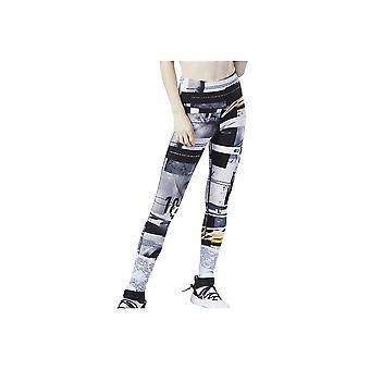 Reebok Wor Myt Aop EJ5986 universal ympärivuotinen naisten housut