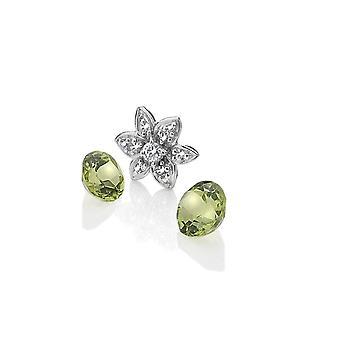 Anais Diamante Hot Anais Sterling argint floare Charm AC055