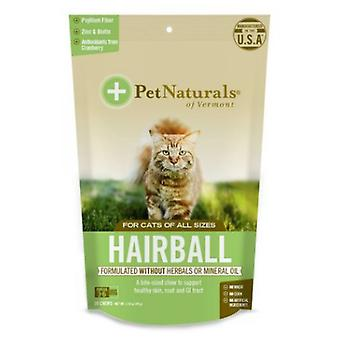 Pet Naturals din Vermont Hairball, 30 Chews