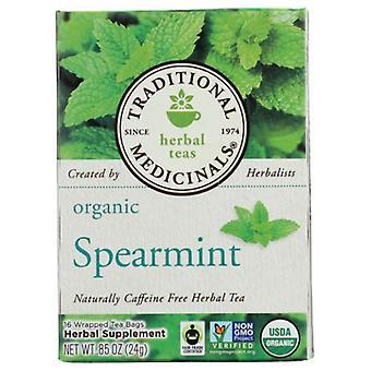 Traditional Medicinals Teas Organic Spearmint Tea, 16 Bags