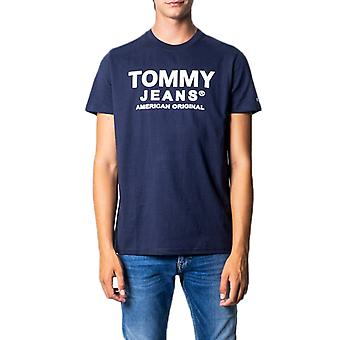Tommy hilfiger navy blue men t-shirt