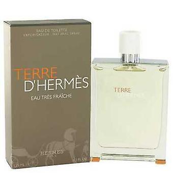 Terre D'hermes By Hermes Eau Tres Fraiche Eau De Toilette Spray 4.2 Oz (men) V728-518220