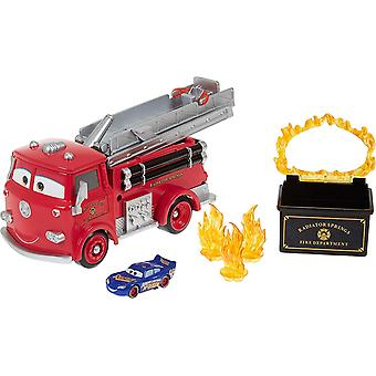 Disney Cars Colour Change Red Fire Truck