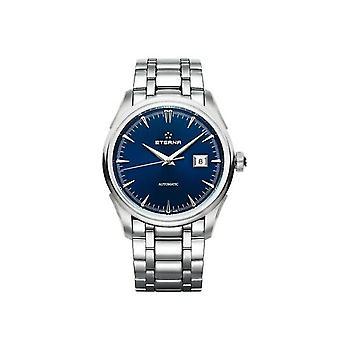Luxury Eterna 1948 Legacy Date Blue Dial Watch for Unisex 295141801700