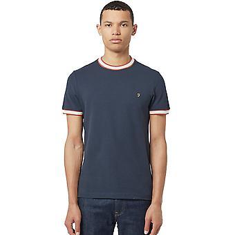 Farah Birmingham T-Shirt - True Navy