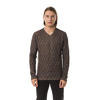 BYBLOS Castagna Regular Fit V-Neck Sweater