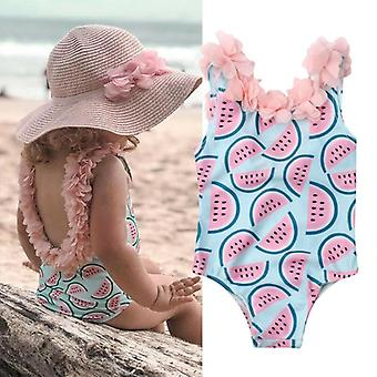 Toddler Infant Baby Watermelon Swimsuit Bikini One-piece Bodysuit