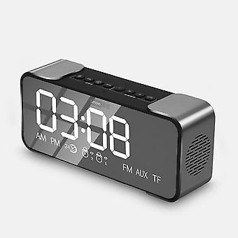 Bluetooth mirror speaker radio alarm diy ringtone one-click snooze bt call