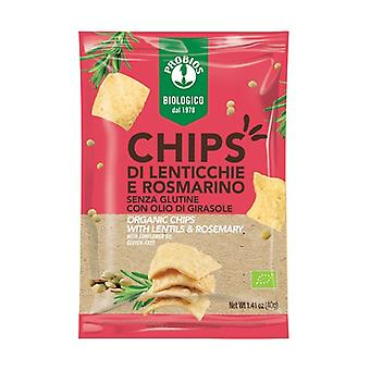 Lentil and rosemary chips 40 g