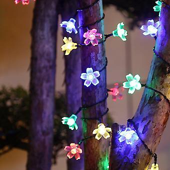 Reťazec víla svetla pre domáce záhrady dekor výkonný solárnej energie lampy Vianoce party