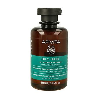 Oily Hair Balancing Shampoo With Mint and Propolis 250 ml