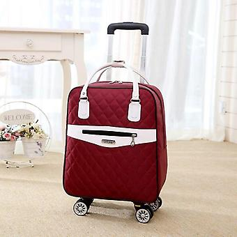 Travel Luggage Suitcase/handbag, Cabin Waterproof Oxford Rolling Trolley