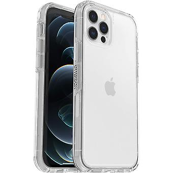 OtterBox Symmetry Clear Series, Clear Confidence for Apple iPhone 12/12 Pro - Clear