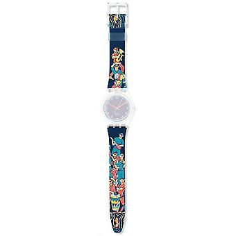Authentic swatch watch strap for agk388