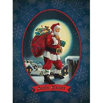 Santa Clause Poster Print by Susan Comish