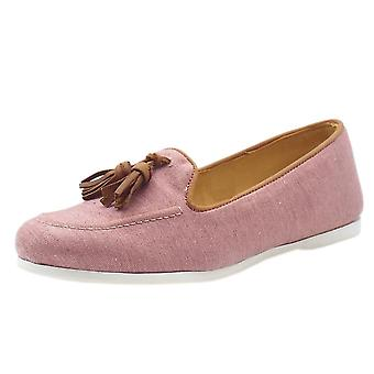 Chatham Eclipse Classic Slip On Loafer In Pink