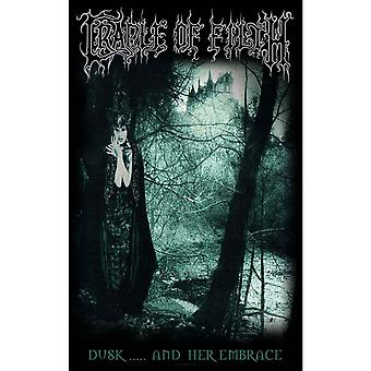 Cradle Of Filth Poster Dusk And Her Embrace new Official 70cm x 106cm Textile
